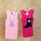 2 Pack of Girl's Singlets - Size 2