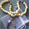 Amethyst Lotus Prayer Beads Rosary