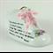 Porcelain Baby Shoe  Personalised Keepsake, New Baby girl or Christening