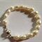 Sterling Silver Fresh Water Pear bracelet