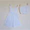 Girls Broderie Anglaise Sundress & Bloomers Size1