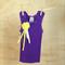 Girl's Purple Embellished Singlet - Size 0