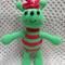 Softies, Alien Doll, Crochet, Handmade, Girl Gift