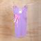 Girl's Mauve Embellished Singlet - Size 1