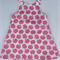 Miss Pink Apples Pinafore Dress - Size 3
