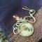 Handbag Charm - tree of life cab with bird