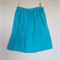 Turquoise Broderie Anglaise Skirt Size 7