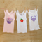 3 Pack of Baby Girl's Singlets - Size 000