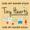 TINY HEARTS NOVEMBER WINTER SALE!!!