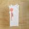 Girl's White Embellished Singlet - Size 1