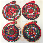 Coiled Mats - set of 4
