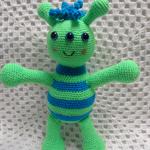 Softies, Alien Doll, Crochet, Handmade, Boy Gift