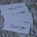 12 Thank You Tags ~ Country ~ Christmas ~ Weddings ~ Celebrations