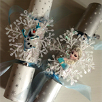Custom made Frozen Christmas Crackers Perth Only