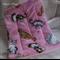 Pink Kitty Blanket