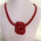 Red Knot Necklace