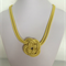 Buttercup Yellow Knot Necklace