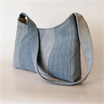 Pieced Denim Bag