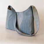 Pieced Denim Bag