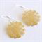 Yellow Lace Earrings
