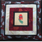 Sturt's Desert Pea cushion cover -' Amicitia'
