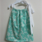 Miss Green Flower Pillowcase Dress - Sizes 00 - 2 Party or Play Dress