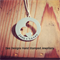 Eternal Heart Hand Stamped Sterling Silver Pendant/ Jewellery/ Necklace