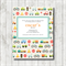 TRANSPORT  printable custom invitation