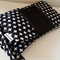 Modern Black Crosses New Design Nappy Wallet with Waterproof Pocket