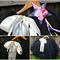 Black Beauty fairy tutu set. Includes flower headband and fairy wand