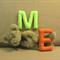Alphabet Letters, Nursery Name Banner letters, Felt Upper Case Letters