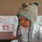 Baby Beanie, Crochet Toddlers Puppy Hat, Crochet Newborn Beanie, Baby Photo Prop