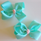 Boutique Toddler Girls Hairbow Hair Clips (Set of 2) Small Childrens Infants