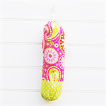 Plastic Bag Holder - Gypsy Paisley Pink - PBH058