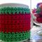 Watermelon cup cosy crochet coffee mug cover mug cosies