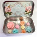 Spring Flower Magnets Set 7