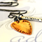 Stamped Guitar Pick Necklace - Mens Gift - Rustic Gift For Him - Grooms Gift