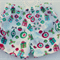 Girls Christmas Ruched Shorts with Ribbon Bow Ties Size 2