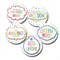 SPOTTY DOTS personalised stickers for teachers.