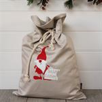 Large Personalised Santa Sack -  Nice List