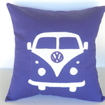 Kombi Cushion Cover - Purple - VW - Custom Order