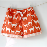Boys Christmas Shorts Reindeer