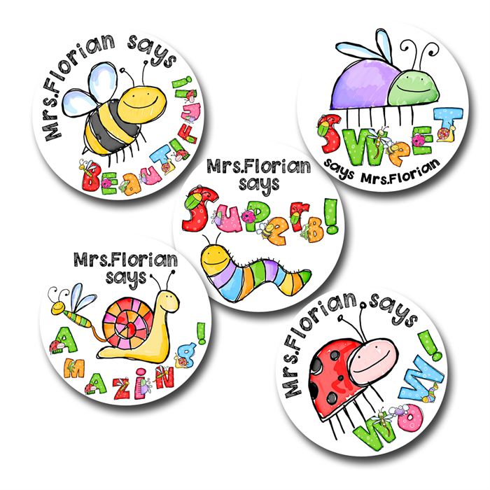 Personalized Stickers For Teachers