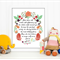 Roald Dahl Printable, Nursery, Glittering Eyes