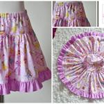 Super Twirly Skirt Michael Miller Sugar Fairies Size 3 - 4