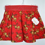 Size 2 Christmas Boo Skater Skirt