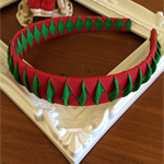 GIRLS HANDMADE CHRISTMAS HEADBAND