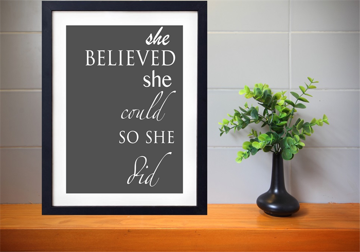 Typography print kids artwork women 39 s print poster for 8x10 office design