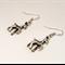 Silver Deer Earrings
