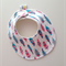 DRIBBLE BIB - Buy 3 get the 4th Free - Feathers Bright fun pretty colours